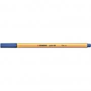 Caneta Stabilo Point 88/41 Fine 0.4 Extrafina Azul Escuro 12933