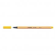 Caneta Stabilo Point 88/44 Fine 0.4 Extrafina Amarelo 13208