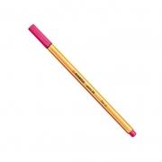 Caneta Stabilo Point 88/56 Fine 0.4 Extrafina Rosa 07193