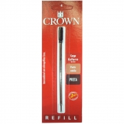 Carga Crown Esfero Metal Preta CA12009P 24905
