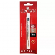 Carga Esferográfica Preta Ca14007P  Crown 26000