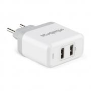 Carregador USB Intelbras EC 2 Fast Branco 4820024 29751