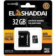 Cartão de Memoria El Shaddai MicroSD 32Gb Classe 10 61443 21486