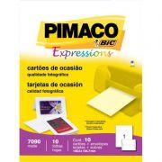 Cartao Pimaco Ocasiao 148,5X104,7 + Envelope 10 Un 7090 11753