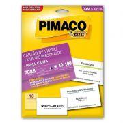 Cartao Pimaco Personal Card 7088 180G Com 100 Un 50.8X88.9Mm 01402