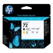 Cabeça de Impressão HP 72 C9384A Amarelo e Preto Matte 11285