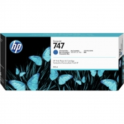 Cartucho de Plotter HP 747 P2V85A Azul Cromatico 26634