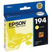 Cartucho de Tinta Epson T194420-BR DurABrite Ultra Amarelo 18006