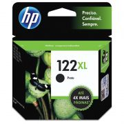 Cartucho HP 122 XL Preto Original (CH563HB) 15487