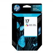 Cartucho de Tinta HP 17 C6625A Color 00497