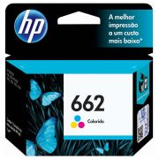 Cartucho de Tinta HP 662 CZ104AB Color 17570
