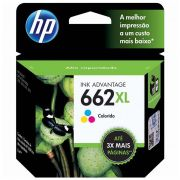 Cartucho de Tinta HP 662 XL CZ106AB Color 17572