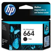 Cartucho HP 664 Preto Original (F6V29AB) 22332