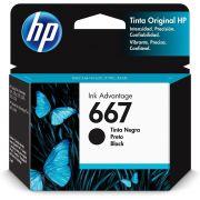 Cartucho de Tinta HP 667 3Ym79AL Preto 29291