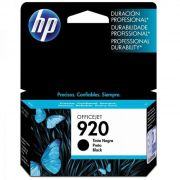 Cartucho HP 920 Preto Original (CD971AL) 13736