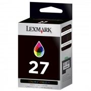 Cartucho de Tinta Lexmark 27 10N0227 Color 04693