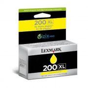 Cartucho de Tinta Lexmark 200 XL 14L0177 Amarelo 18015