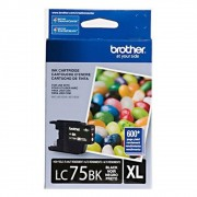 Cartucho de Tinta Original Brother LC75BK Preto 16782