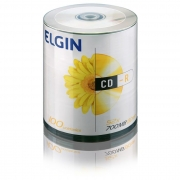 CD-R 700Mb 80 Min. com 100 Uni. Elgin 02851