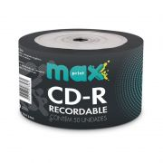 CD-R 700Mb Gravável Maxprint Tubo Shrink 50 Un. 506047 24640