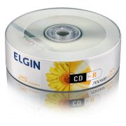 CD-R Elgin 700Mb Pino Com 25 Un. 82160/82178 15216