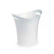 Cesto Para Lixo Waleu Branca 10150001 25085