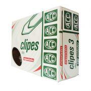 Clips 3 Aço Niquelado Caixa com 100 Uni. 9.12.11.21-0 ACC 04708