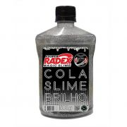 Cola Slime Radex Glow Neon Prata 500G 7517 28765