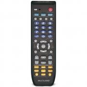 Controle Remoto Universal 3 Em 1 Preto AC088 Multilaser 30476