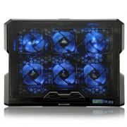 Cooler para Notebook Hexa Cooler com 6 Fans Led Azul Ac282 Multilaser 23019