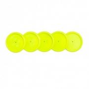 Disco Caderno Inteligente 31mm G Amarelo Neon 12 Un + Elástico Ci312006 29211