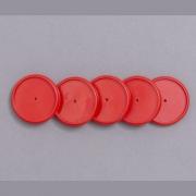 Disco Caderno Inteligente 31mm G Vermelho 12 Un + Elástico Ci312003 29210