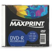 DVD-R 4.7gb 120 Min. 16X 503124 Maxprint 22260