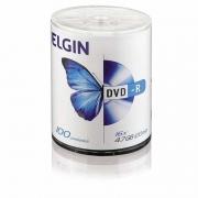 DVD-R Elgin 4.7Gb 16X Tubo Com 100 Un. 82067/82050 21387