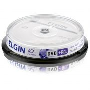 DVD+R Elgin 8,5 Gb 240 Min Tubo 10 Un. 82090/82083 10499
