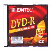 DVD-R Emtec 4.7 Gb 8X Slim 130000191 7207 14622
