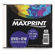 DVD+Rw 4.7 Gb 120 Min. 4X 502022 Maxprint 22263