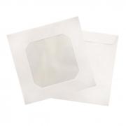 Envelope para Cd Branco com Visor Acetinado com 25 Un. Scrity 11256