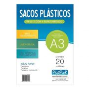 Envelope Plastico A3 4 Furos 20 Un. Romitec 1511 25300