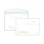 Envelope Scrity Carta Branco 32 114X162Mm Com RPC 75Gr 1000 Un Cof032 15074
