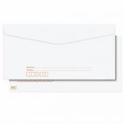 Envelope Scrity Pitt Branco 22 114X229Mm Com RPC 63G 1000 Un Cof022 03013