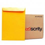 Envelope Scrity Saco Ouro Ko34 240X340 80Gr Com 250 Un Sko034 06408