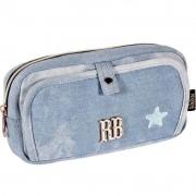 Estojo Triplo Clio Rebecca Bonbon Star Azul RB2057 28612