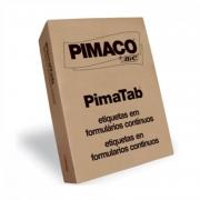 Etiqueta Pimaco 81X36 1 Colunas Com 4.000 Un 8136-1C 04279