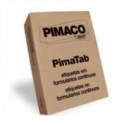 Etiqueta Pimaco 81X48 4 Colunas Com 12.000 Un 8148-4C 01265