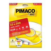 Etiqueta Pimaco CdPPly - Cd10B 07472