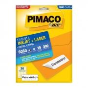 Etiqueta Pimaco Inkjet + Laser - 6080 00900