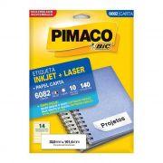 Etiqueta Pimaco Inkjet + Laser - 6082 00571