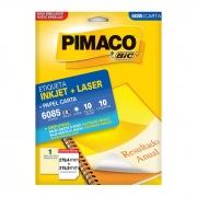 Etiqueta Pimaco Inkjet + Laser - 6085 00903