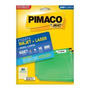Etiqueta Pimaco Inkjet + Laser - 6087 00904